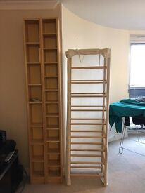 Ikea CD/DVD shelves