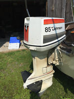 1977 Johnson 85hp EL77S Outboard Motor With Throttle $900 OBO