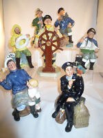 Wanted Royal Doulton Figurines, Hummels, Character Jugs Plus Mor