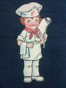 """''Campbell Soup Kids'' """"CHEF"""" Cardboard Advertising Piece."""