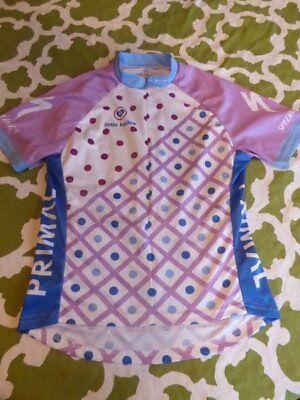 ac79f741d7 Primal Girls XL 14-16 Specialized Little Bellas Biking Cycling Jersey Pink  Blue