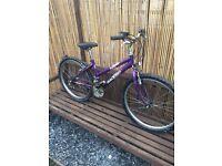 "Girls 24"" wheel mountain bike"