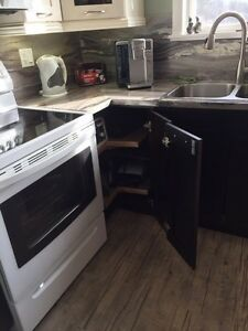 Almost new kitchen cabinets Kingston Kingston Area image 5