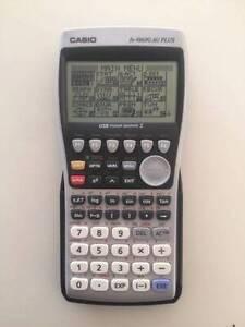CASIO fx-9860G AU PLUS Graphics Calculator in As New Condition Brisbane City Brisbane North West Preview
