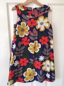 Mini Boden pinafore dress, age 7-8