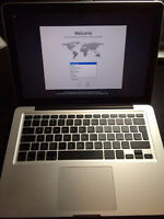 MacBook Pro 13 (late 2011) for sale, 2.8Ghz i7, 8GB RAM,512Mb Vi