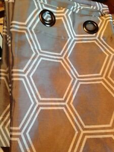 4 curtain panels (Sold pending pick up)