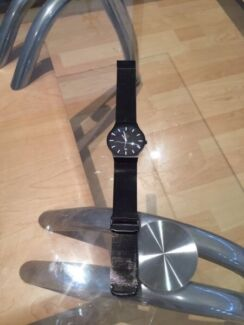 Obaku Black Titanium Watch