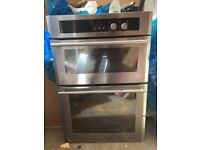 Gas twin oven and hob