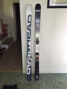 162 cm twin tip head skis