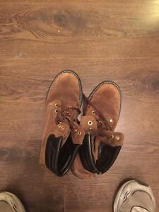 Size 8.5 steel toe boots