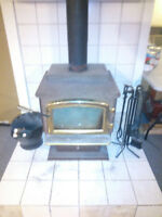 Wood Burning Stove with Accessories