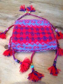 Turkish knitted bag