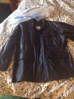 Never Worn - Men's Leather Jacket
