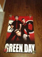 9$ ou 5$ ch. Green day & Good Charlotte POSTER
