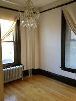 Gorgeous Heritage Building One Bedroom Downtown