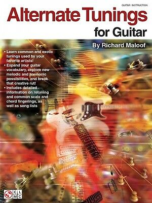 - Alternate Tunings for Guitar - Guitar Educational Book NEW 002500521