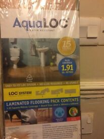 Laminate flooring packs x4