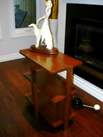 1930s French ART DECO 3Tier OCCASIONAL SIDE TABLE periodROSEWOOD