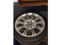18 Inch Bmw alloys to suit e60 5 series will suits others
