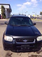GIVE AWAY! Mint 2002 Ford Escape XLT