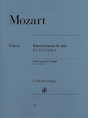 Mozart Piano Sonata in B Flat Major K333 315c Sheet Music Piano Solo N (Mozart Sonata In B Flat Major K 333)