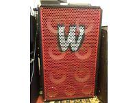 900W 6 x 10 Warwick Bass Cab 611 Pro