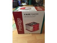 Brand new prestige 4 slice toaster