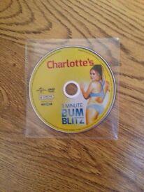 Charlotte Crosby Exercise DVD (bum blitz)