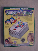 BRAND NEW SUPER MIND CHILDRENS TEACHING TOOL FOR AGES 5-9