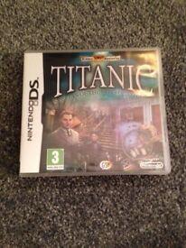 Titanic Ds game