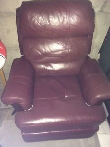 Comfy Leather Recliner