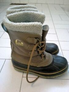 women's Sorel 1964 Pac Leather/Rubber Boots - 6US
