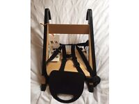 Stokke portable child seat/high chair. Brand new.