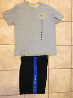 NIKE DRIFIT LIVESTRONG SHORTS (SZ L) and SHIRT (SZ XL)
