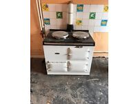AGA gas/oil farmhouse cooker
