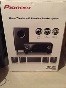 Brand new Pioneer home theatre system