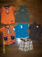 Disney Tiger, Seasame Street & B.T Kids Clothing, Boys 12 months