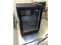 Tefcold BC30 glass door counter top refrigeration display