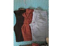 Men's clothes bundle size 34r, 36r and medium