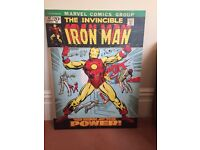 IRON MAN 'The Birth of the Power' Canvas