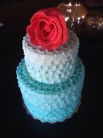 Wedding cakes, birthday cakes, graduation cakes and more!!