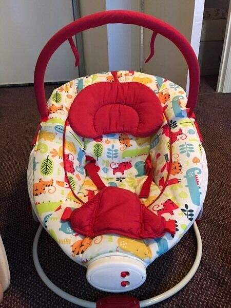 Baby chair songs and toys