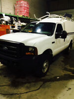 SAFETIED 2006 Ford F-250 Pickup Truck W/ Space Kap + Extras