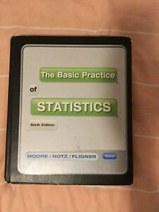 The Basic Practice of Statistics London Ontario image 1