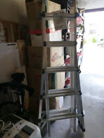 NEW 21' TELESCOPIC MULTI TASK LADDER – MOVING SALE