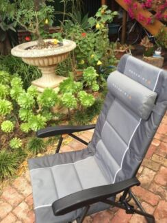 "Camping chair ""Wanderer Premium"" grey"