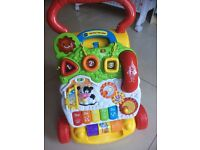 V-Tech Baby Walker in excellent condition