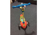 My first Mickey Mouse scooter