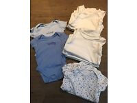 14 x Baby boys vests size 18-24 months